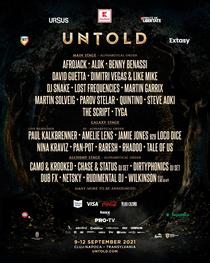 Primul line-up de la Untold 2021