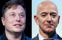 Elon Musk si Jeff Bezos