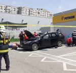masina explozie