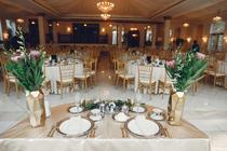 Salon pregatit de nunta