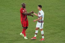 Romelu Lukaku si Cristiano Ronaldo