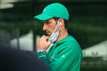 Novak Djokovic, in complexul de la Wimbledon