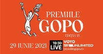 Premiile Gopo, 29 iunie 2021