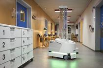 Roboţi de dezinfecţie pentru spitale