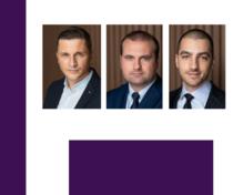 George Trantea, Adrian Cristea, Adrian Zamfir