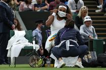 Serena Williams, abandon de la Wimbledon