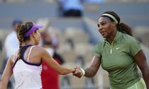 Serena Williams si Mihaela Buzarnescu