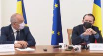 Emil Boc și Forin Cîțu, conferință de presă Maramureș