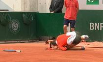 Sorana Cîrstea, căzătură urâtă la Roland Garros