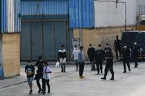 Politisti spanioli si minori marocani in Ceuta