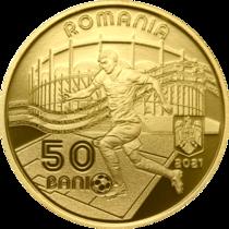Moneda 50 de bani - Campionatul european de fotbal