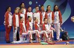 Ansamblul de junioare al României la CE de gimnastica ritmica