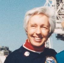 Mary Wally Funk in 1985