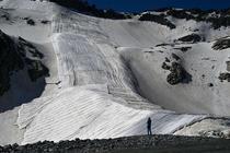 Ghetarul Presena din nordul Italiei va fi acoperit pentru a nu se topi