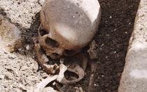 sarcofag de copil descoperit la Cluj