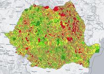 Harta Interactiva - vaccinarea in fiecare localitate din Romania
