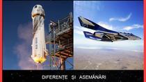 SpaceShip 2 vs New Shepard
