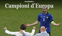 Reactia presei dupa finala Euro 2020 Anglia - Italia