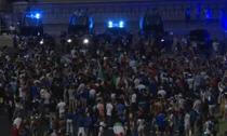 Fanii italieni sarbatorind cucerirea Euro 2020