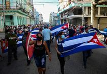 Proteste la Havana, Cuba