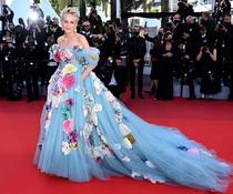 Sharon Stone la Cannes (sursa: Instagram)