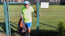 Leonid Stanislavskyi a fost recunoscut de Guiness World Records drept cel mai batran jucator de tenis din lume