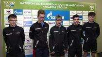 Echipa masculina a Romaniei la Campionatele Europene de tenis de masa U19