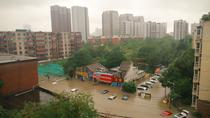 Inundatii in Zhengzhou, China