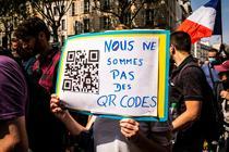 Protest anti-vaccinare in Franta
