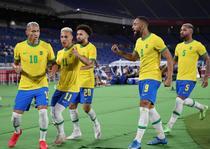 Brazilia a castigat derbiul cu Germania la Tokyo