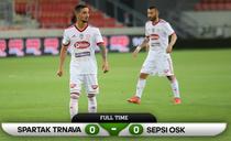Sepsi egal cu Spartak Trnava in Conference League