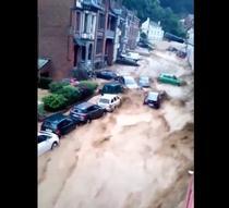 Inundatii in Belgia- Screenshot