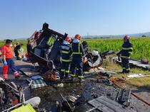 Accident grav (sursa foto: ISU Bacau)