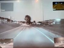 Meteorit in Norvegia -Screenshot
