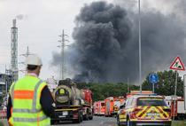 "Explozia de la parcul industrial chimic din Leverkusen a fost clasata in categoria ""pericol extrem"""