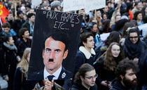 Proteste Franta (captura euronews)