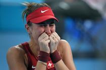 Belinda Bencic si lacrimile bucuriei