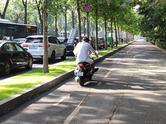 Circulatie pe trotuar