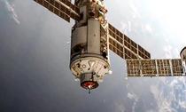 Modulul rusesc Nauka andocand la ISS
