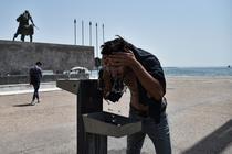 Grec racorindu-se in Salonic
