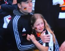 Euro 2020 - Fetita de origine germana care plange