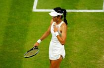 Emma Raducanu, inainte de abandonul de la Wimbledon(1)