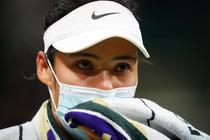 Emma Raducanu, inainte de abandonul de la Wimbledon