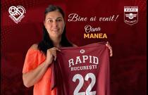 Oana Manea se intoarce in handbal si va juca pentru Rapid Bucuresti