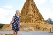 Castelul de nisip din Blockhus