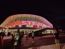 Stadionul Steaua, noaptea