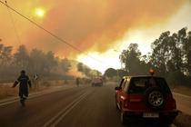 Incendii in Grecia