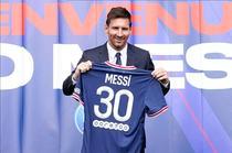 Lionel Messi, cu tricoul celor de la PSG