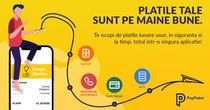 Plata facturilor prin aplicația PayPoint
