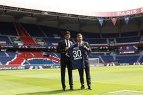 Nasser Al-Khelaifi si Lionel Messi